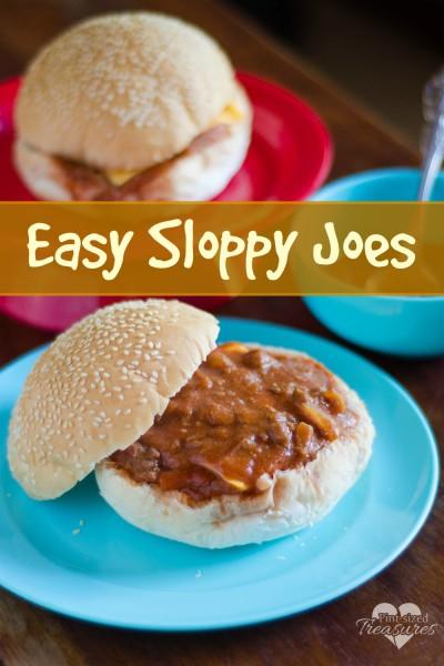 easy sloppy joes recipe