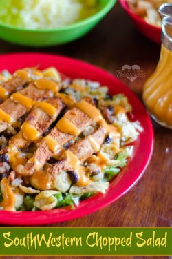 Southwestern Chicken Chopped Salad