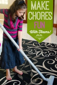 Make chores fun for kids
