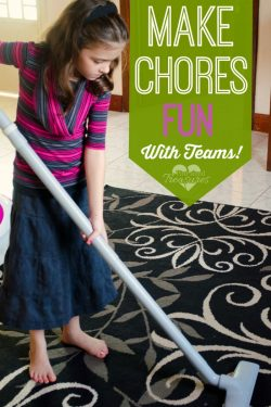 Make Chores Fun with Cleaning Teams!