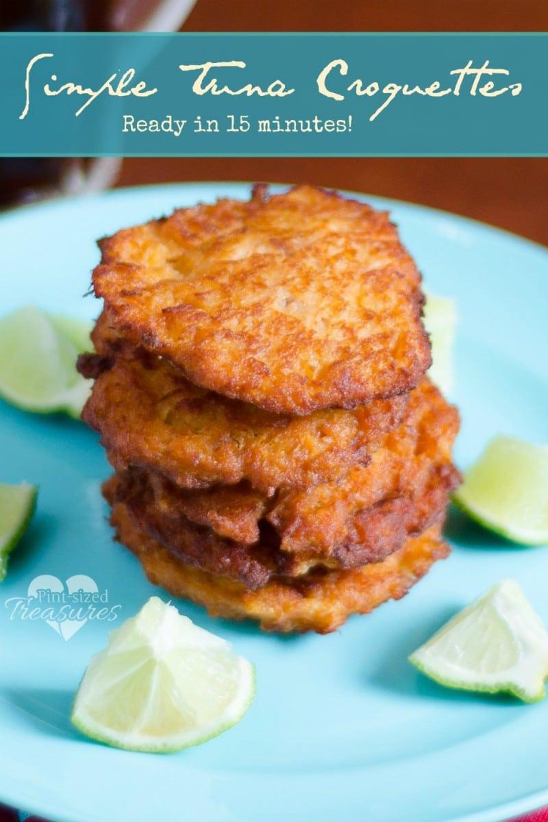 easy tuna croquettes