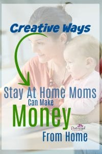 Wow! These ideas are super creative! Any stay-at-home-mom who wants to earn money from home will LOVE this list! Ideas for every stay-at-home mom! #stayathomemom #earningmoney #workfromhome #wahm #sahm mommyblog