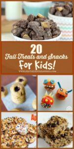 fall snacks and treats for kids