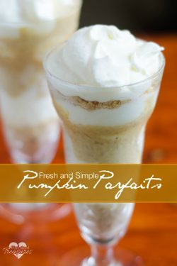 Fresh Pumpkin Parfaits