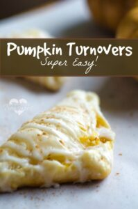 simple and easy pumpkin turnovers