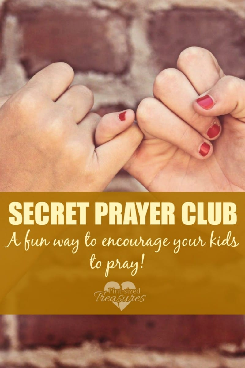 how to encourage kids to pray