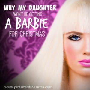 I will not buy Barbie