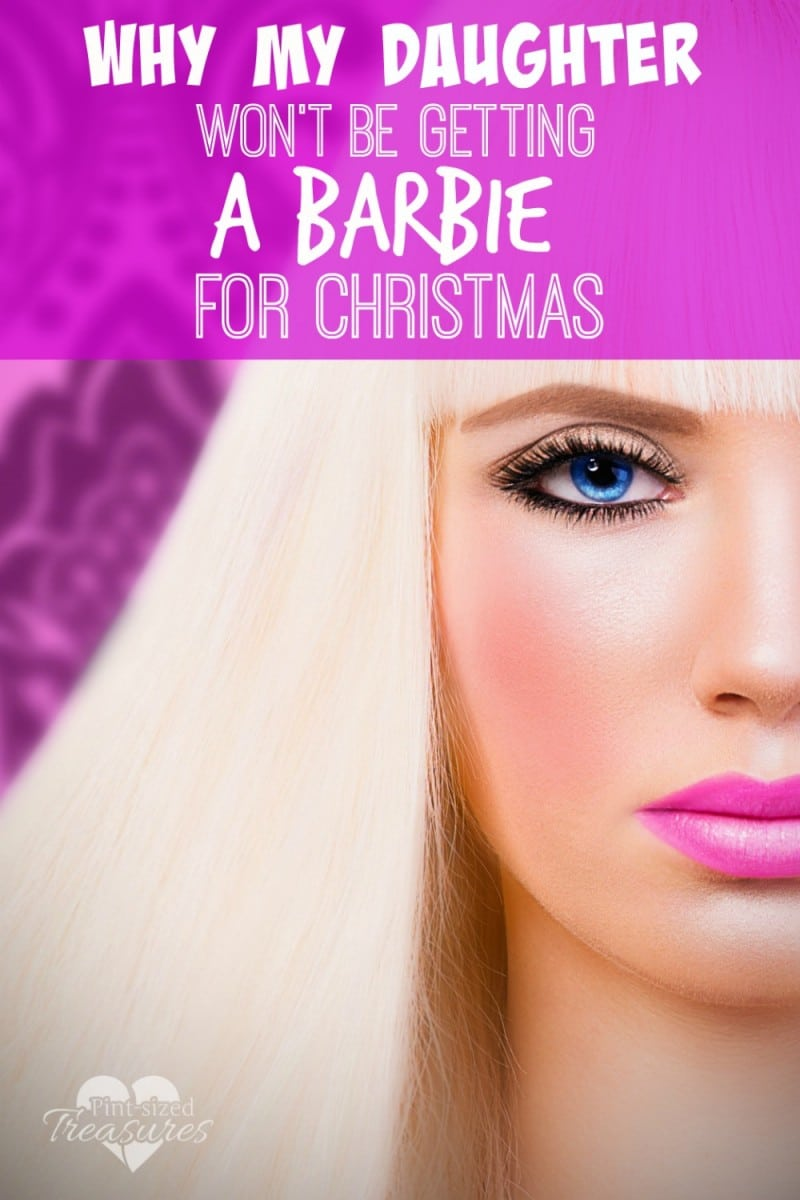 moms don't buy Barbies