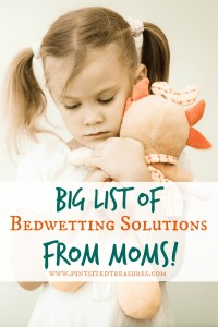 bedwetting helps