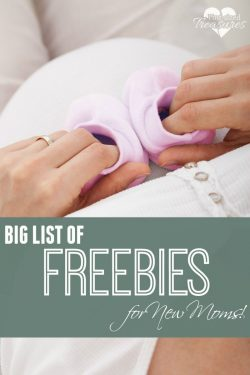 Must Have Freebies for New Moms