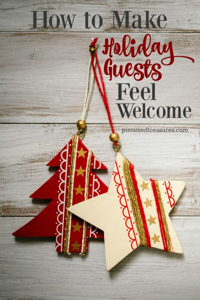 tips to make holiday guests feel welcome