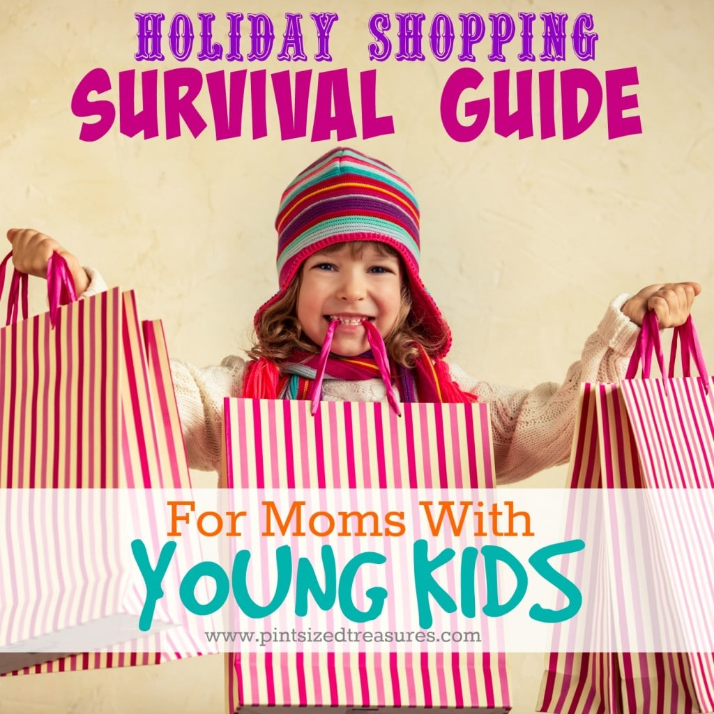 Holiday Shopping Survival Guide For Moms with Young Kids