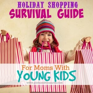 survival tips for holiday shopping with kids
