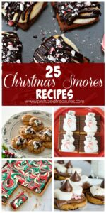 Christmas s'mores recipes