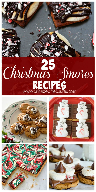 Christmas s'mores recipes