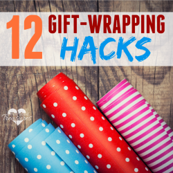 gift-wrapping tips and tricks