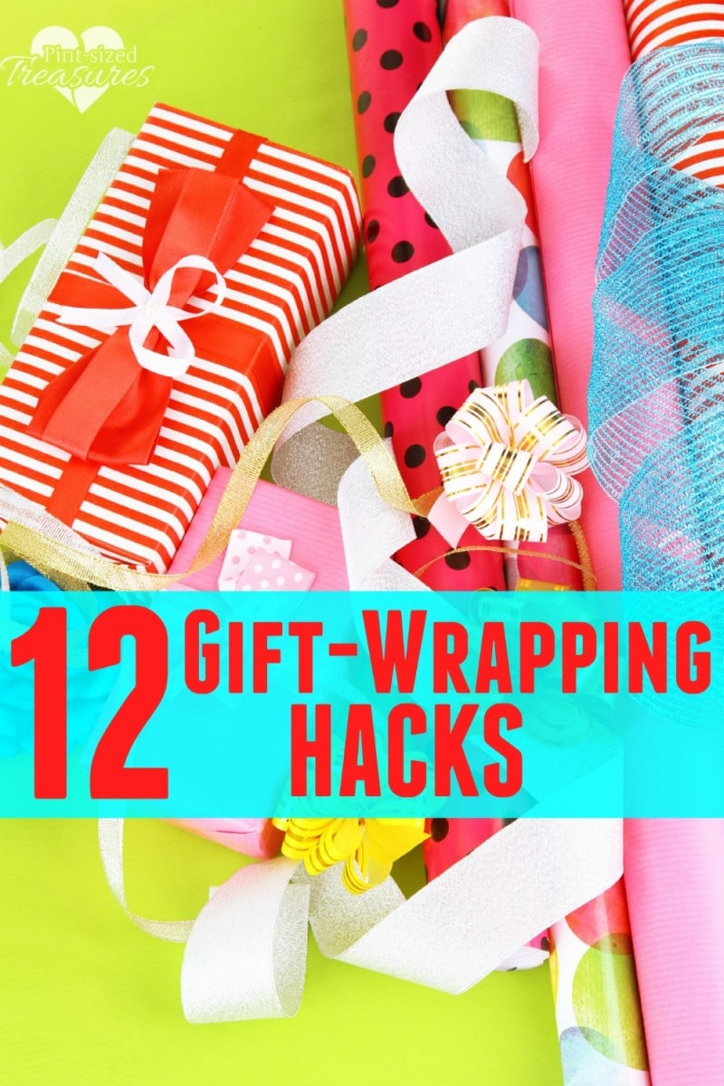 gift-wrapping hacks