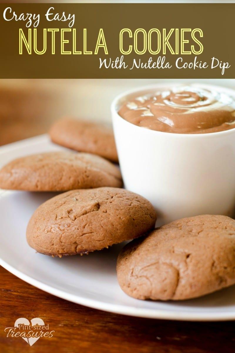 crazy easy nutella cookies