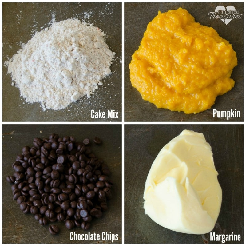 easy chocolate chip pumpkin muffins ingredients