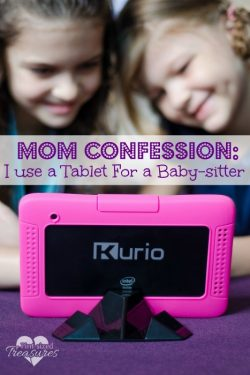 Mom Confession: I Use a Tablet For a Baby-sitter