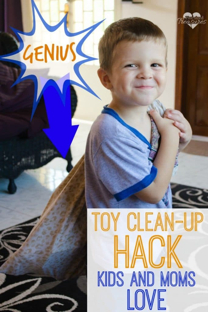 Genius Toy Clean-up Hack Kids Can Do!