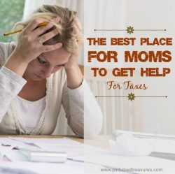 The Best Place for Moms to Get Help for Taxes