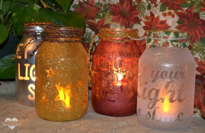 easy holiday luminaries