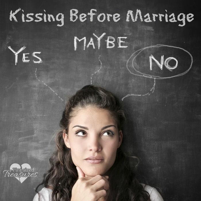 no kissing before marriage