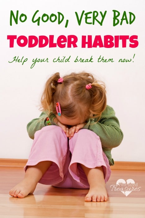 bad habits in toddler