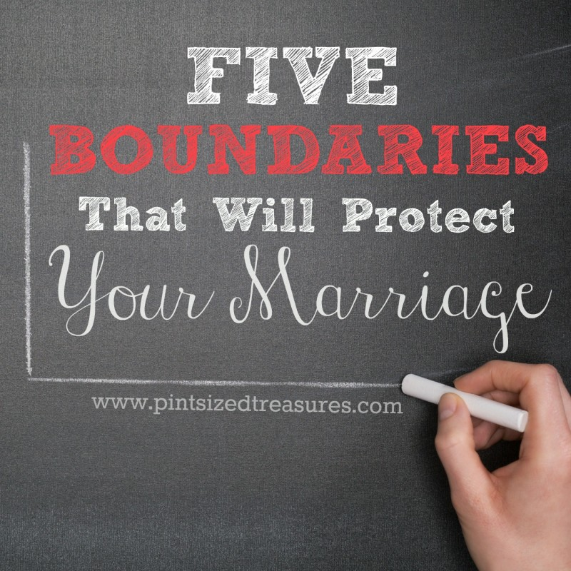 Boundaries to protect your marriage