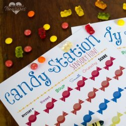DIY Candy Sensory Learning Station