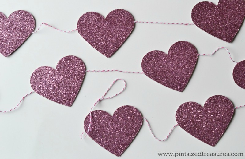 easy heart bunting tutorial craft