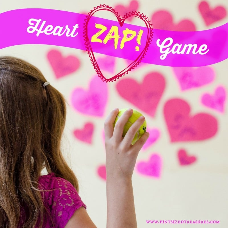 fun heart zap game for kids