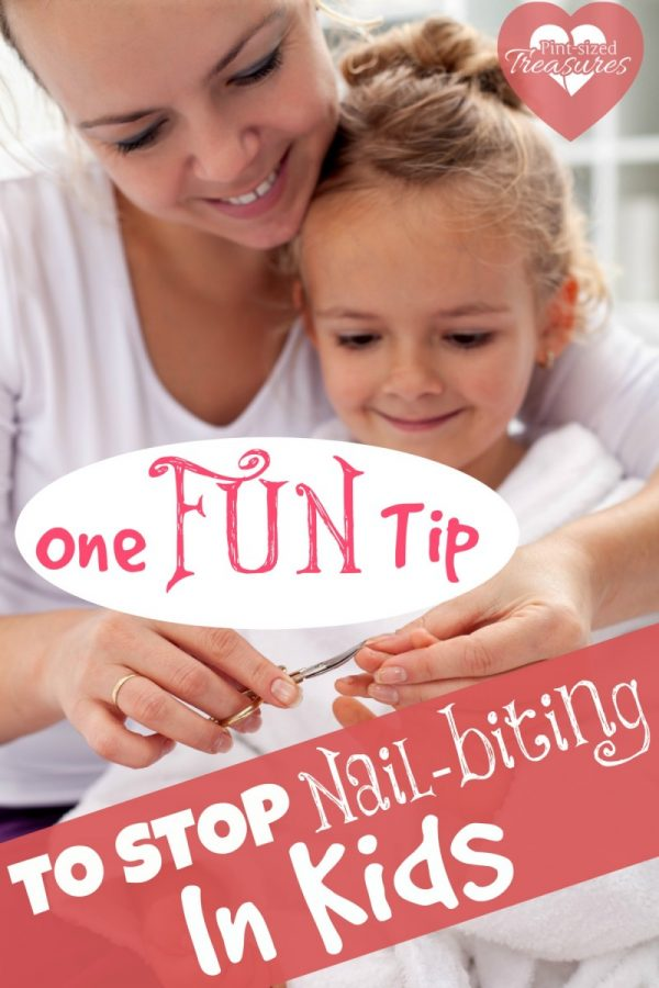 Whoa! This simple trick REALLY works to get kids and teens to STOP biting their nails! #parenting #parentingtips #bitingnails #healthyhabits #motherhood #mommy #mommyblog #raisingkids #parentinghack #lifehack #teachingkids #momlife