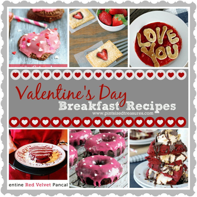 breafast ideas for Valentine's day