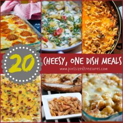 One dish cheesy meals