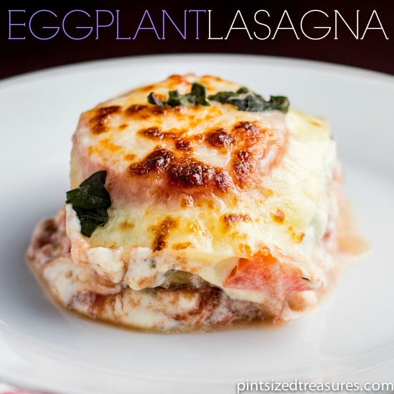 easy eggplant lasagna recipe