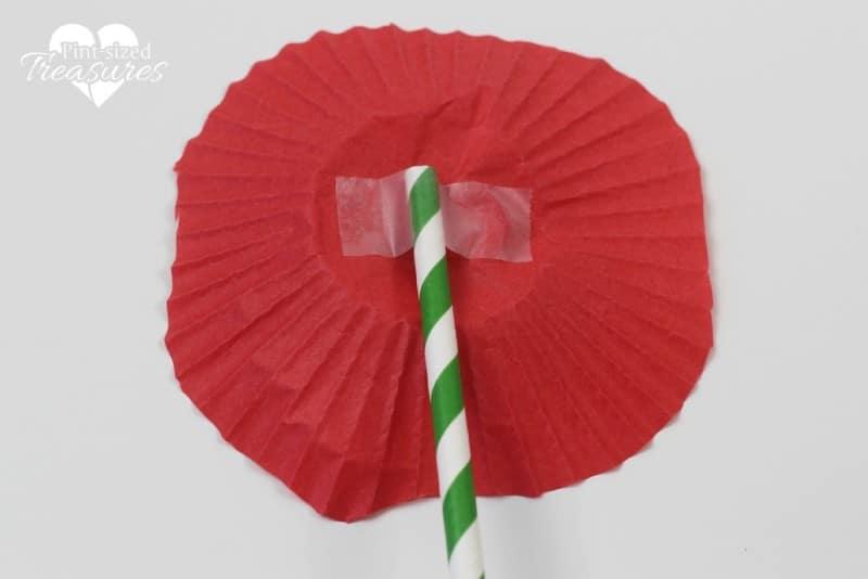easy cupcake liner popy craft