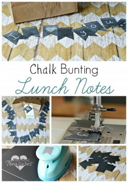 Chalk Bunting Lunch Notes