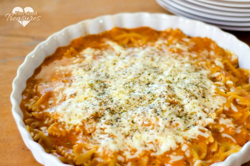 cheesy Italian skillet meal