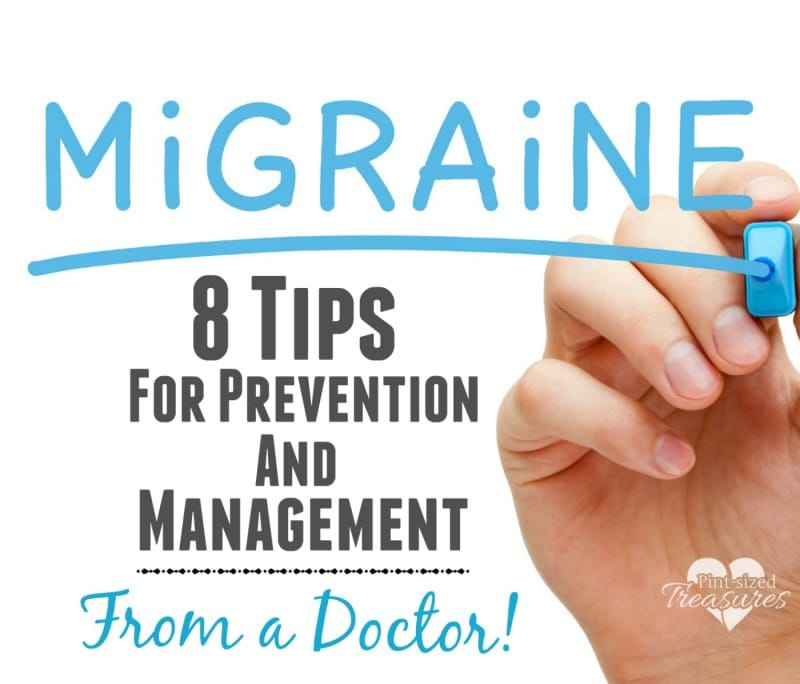 migraine tips and help from a doctor