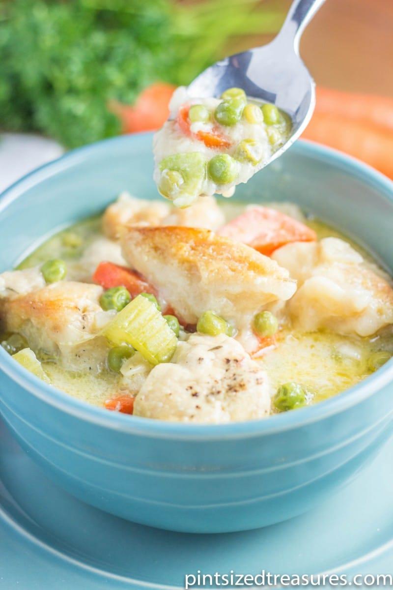 Crockpot Recipe for Chicken and Dumplings