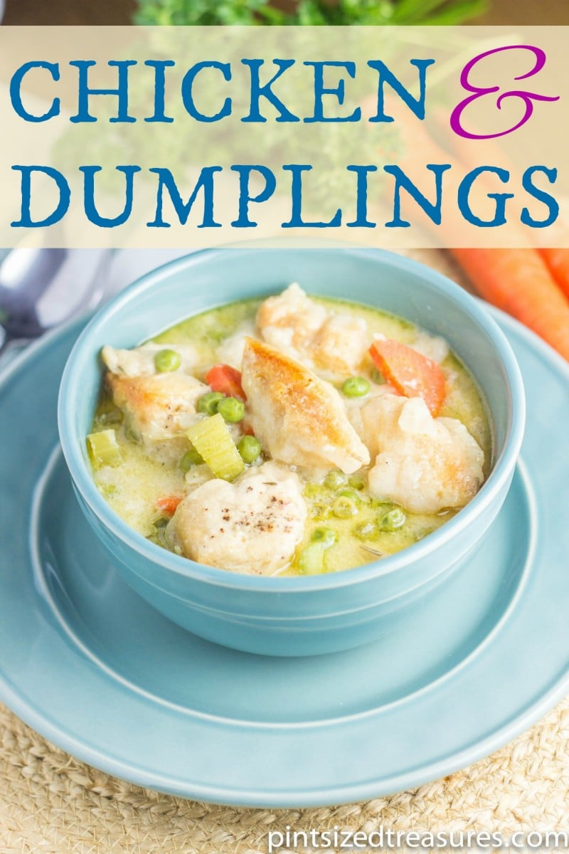 Crockpot Chicken and Dumplings recipe