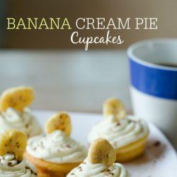 banana cream pie cupcakes recipe