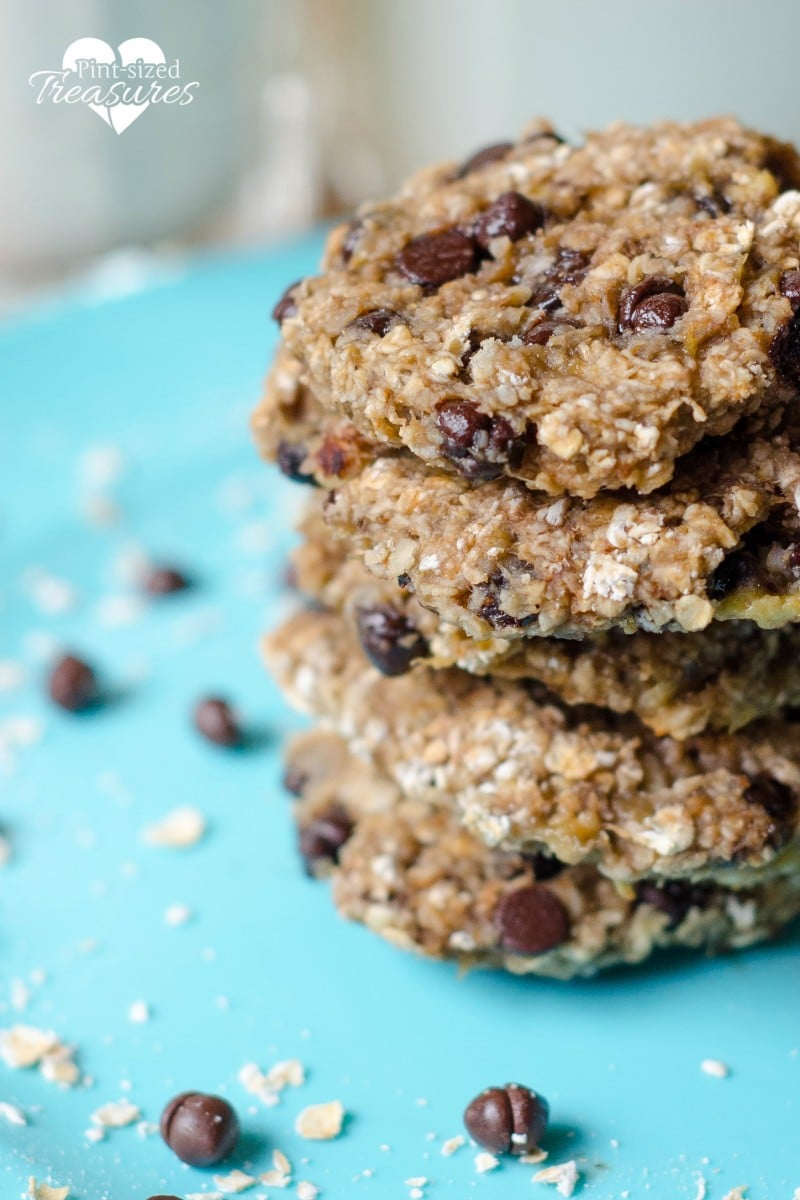 easy three ingredient breakfast cookies