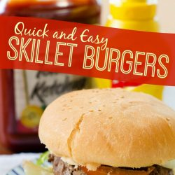 quick and easy skillet burgers