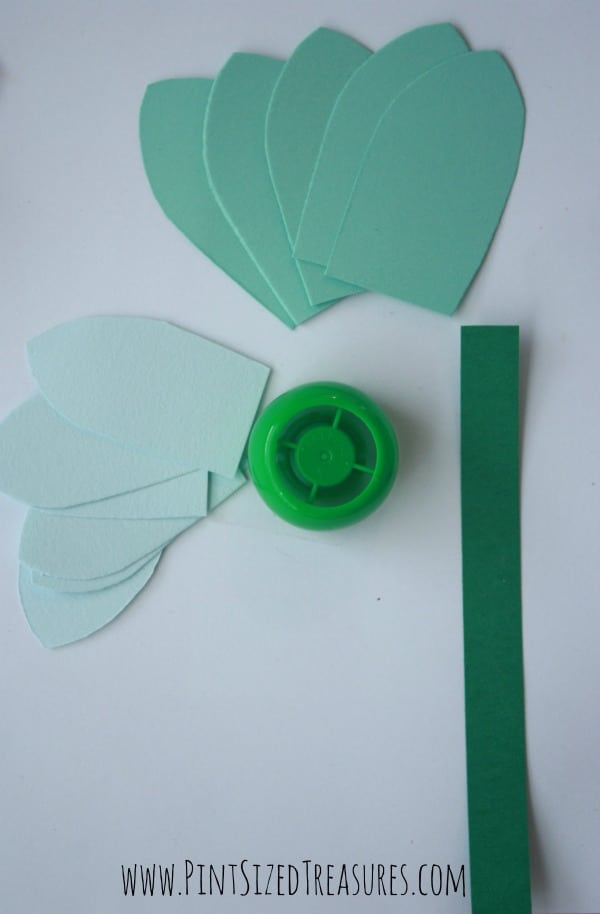 easy squeeze pouch lid flower craft