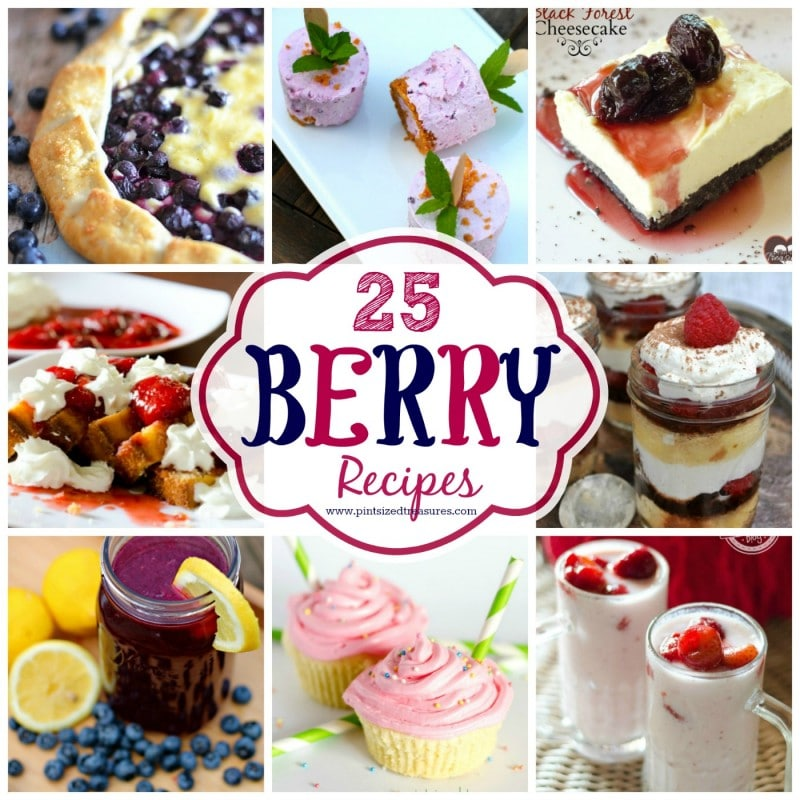 huge list of berry recipes