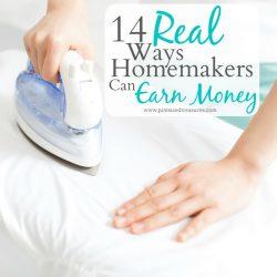 how homemakers can earn money