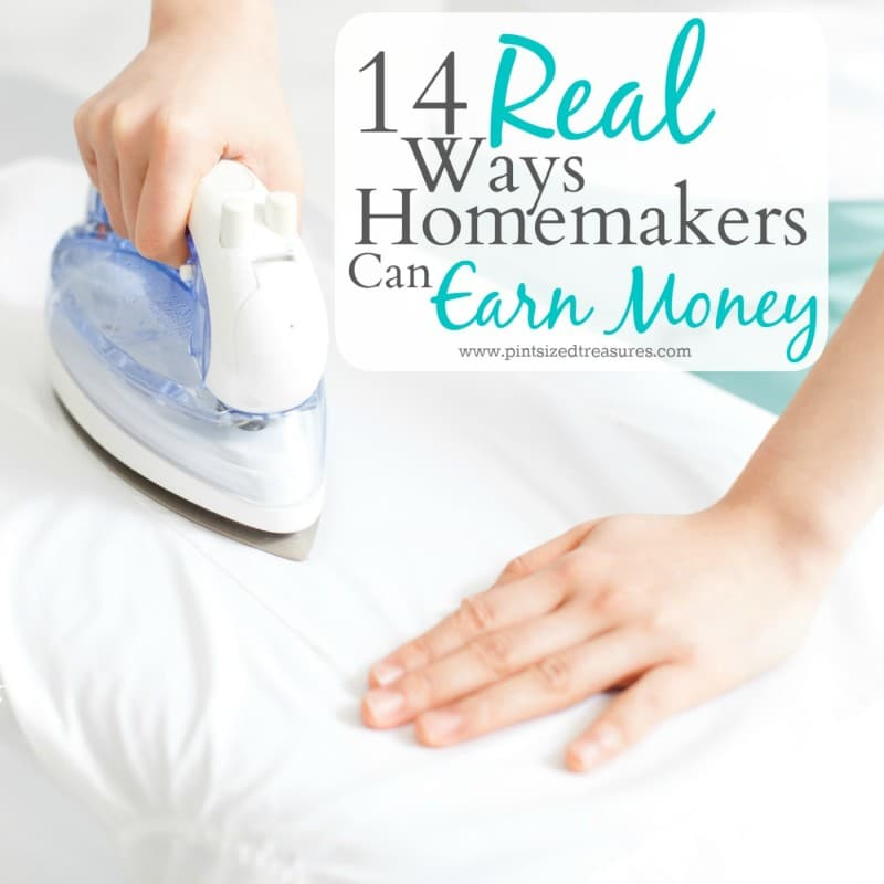 how homemakers can earn money